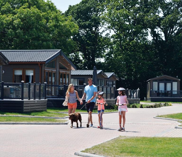 Dog Friendly Lodges Hoburne Holiday Parks