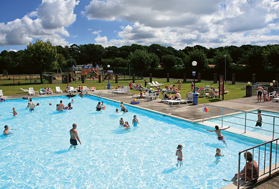 Holiday Parks In Dorset Hoburne Holiday Park
